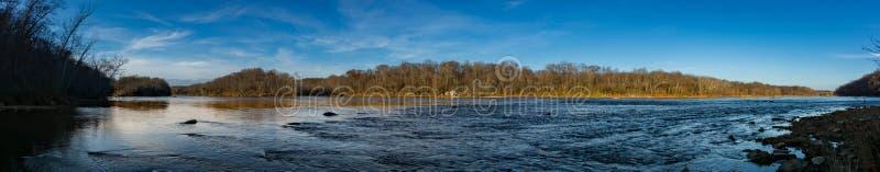 Il fiume Potomac ad ovest di Washington immagine stock libera da diritti