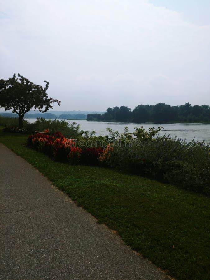 Il fiume Susquehanna immagini stock