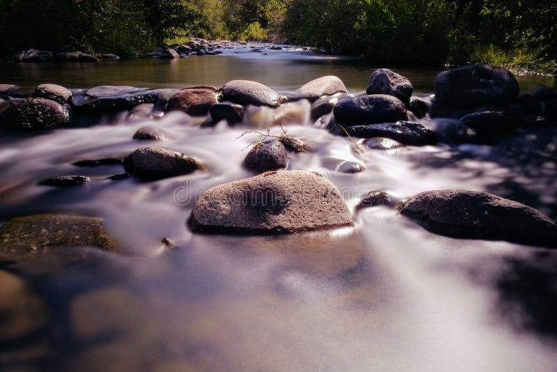 Il fiume Truckee, Reno, Nevada fotografia stock