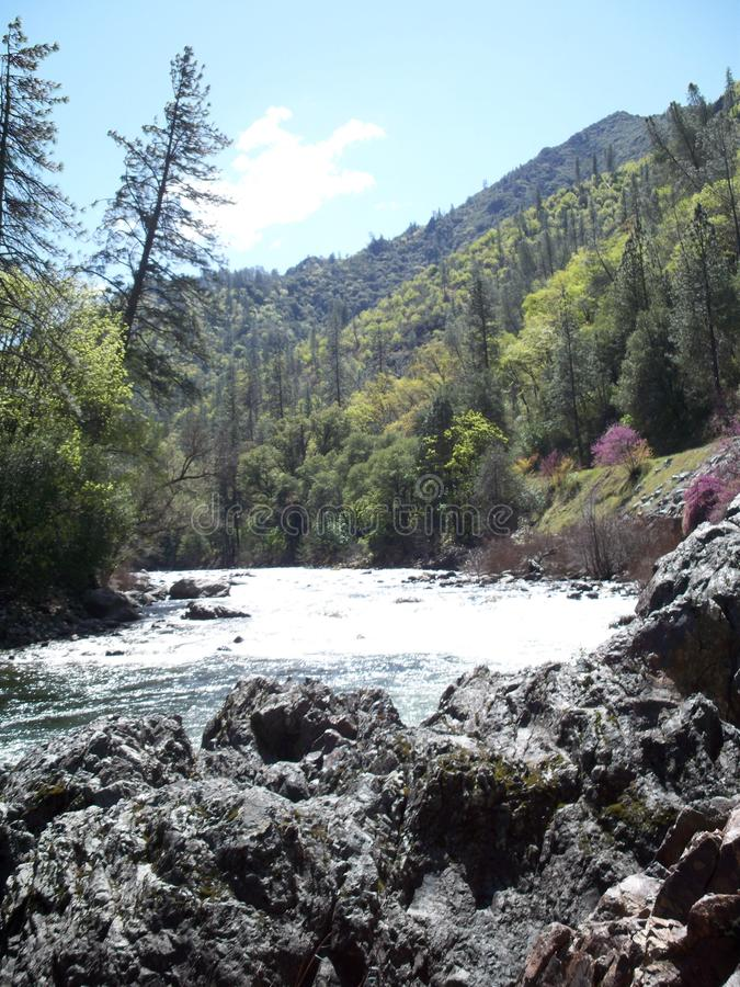 Il fiume vigoroso 4 di Merced immagine stock libera da diritti