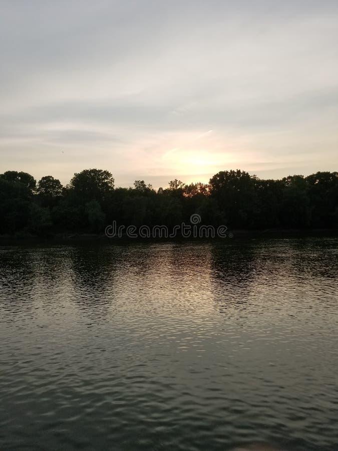 Il fiume Wabash immagine stock libera da diritti