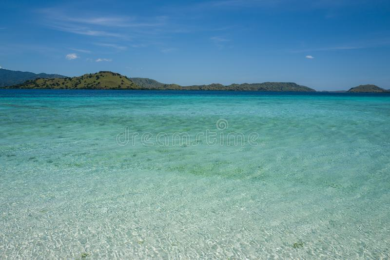 Il Flores Taka Makassar Beach fotografie stock