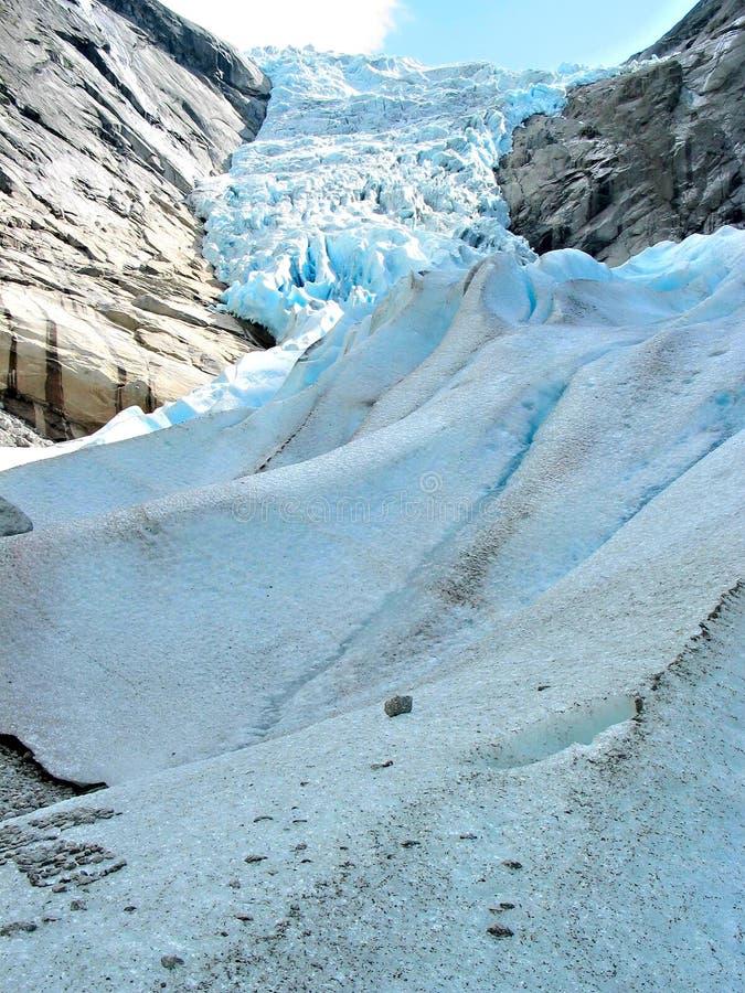 Il flusso del ghiaccio fotografia stock libera da diritti