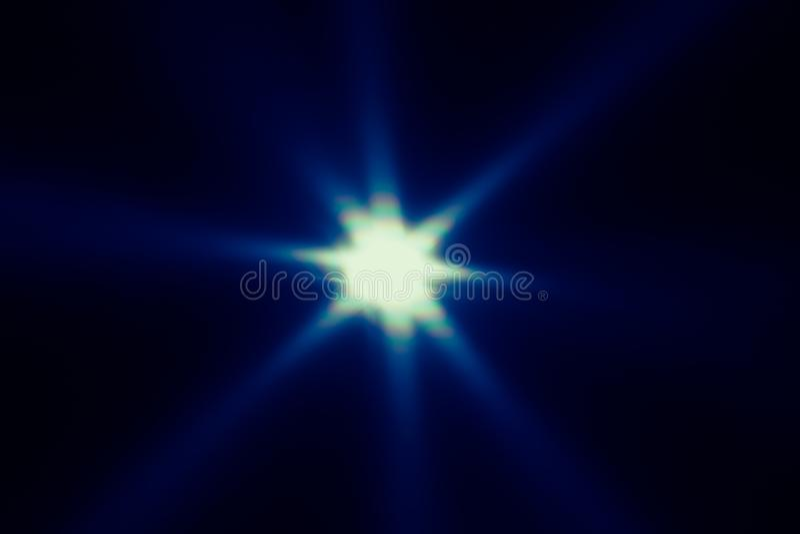 Il fondo astratto, bei raggi di luce star fotografia stock