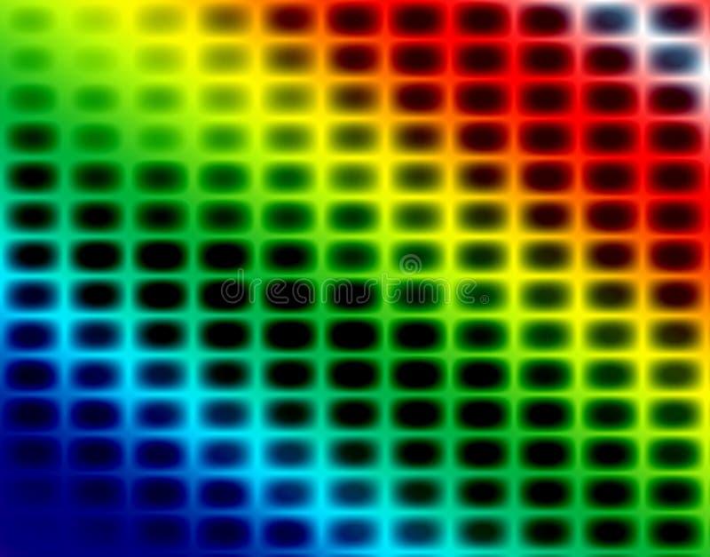 Il fondo astratto FO dell'arcobaleno progetta illustrazione vettoriale