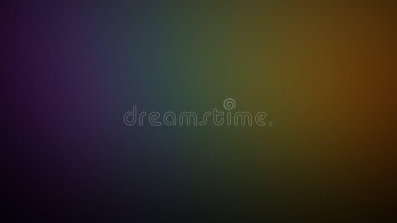 Il fondo dell'arcobaleno ha sbiadito le tonalità illustrazione di stock