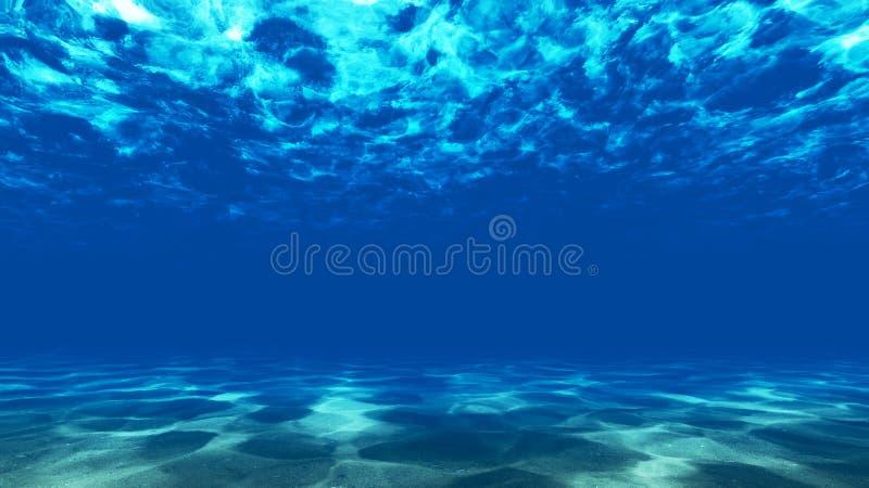 Il fondo dell'oceano 2 fotografia stock libera da diritti