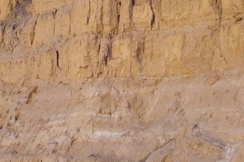 Il fondo della parete ha trasformato l'argilla modellare l'argilla una casa residenziale immagini stock libere da diritti