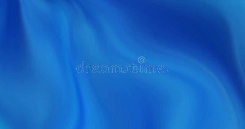 Il fondo di un'onda del mare, liscia le onde royalty illustrazione gratis