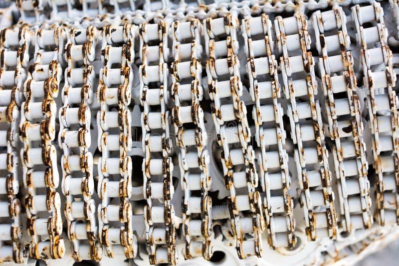 Il fondo e la struttura dell'artigianato metal il materiale illustrativo dai pezzi di ricambio usati fotografie stock