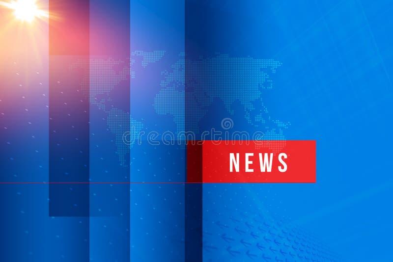 Il fondo grafico di ultime notizie, notizie manda un sms a in scatola rossa royalty illustrazione gratis