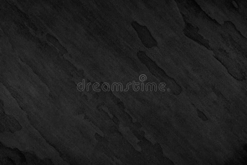 Il fondo nero di pietra, struttura lo spazio in bianco di lusso di superficie grigio scuro f fotografie stock