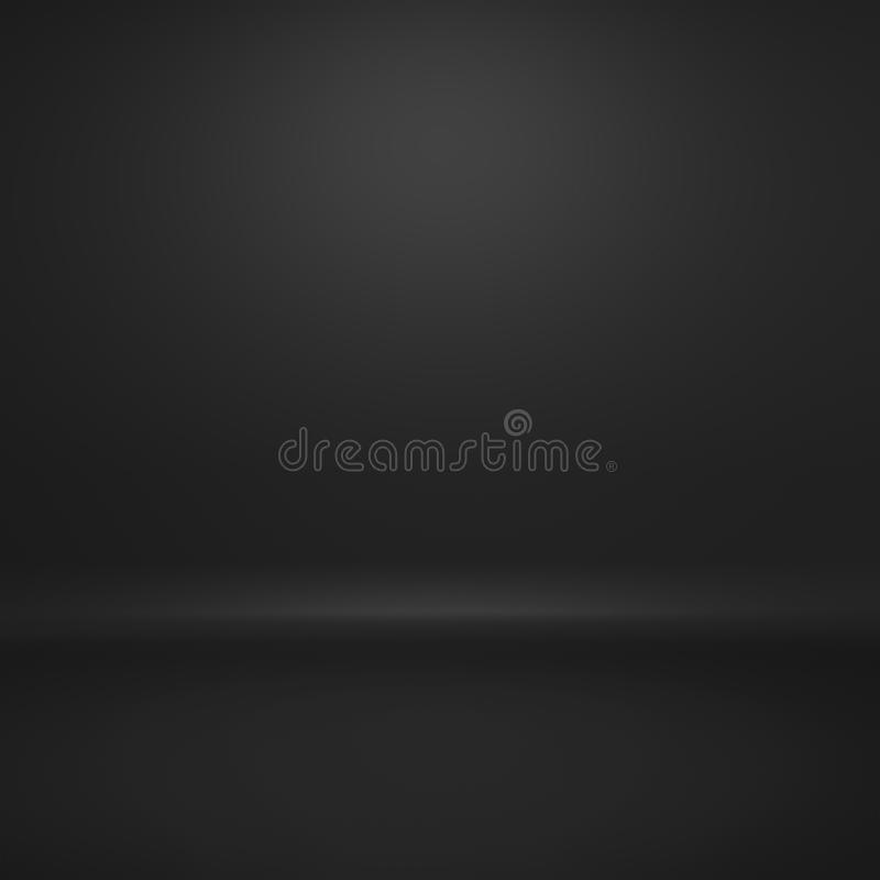 Il fondo nero semplice dell'estratto di pendenza ci usa progettazione del contesto del testo o del prodotto illustrazione vettoriale