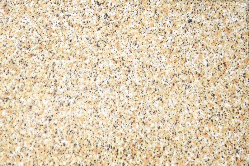 Il fondo senza cuciture dettagliato di struttura di vecchio terrazzo, modelli naturali ha lucidato il pavimento di pietra fotografie stock