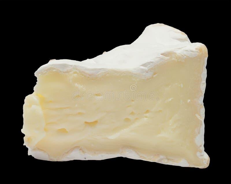 Il formaggio Camembert isolato immagini stock libere da diritti