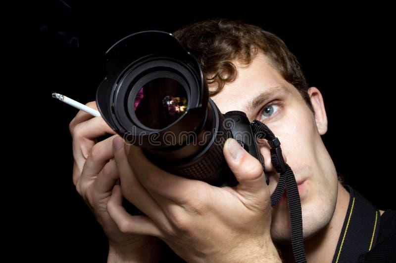 Il fotografo immagini stock