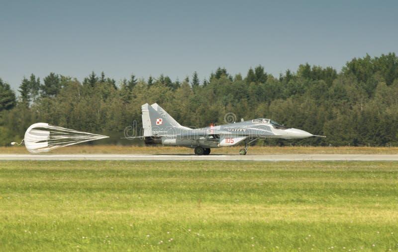 Il fulcro di Mikoyan MiG-29 immagine stock