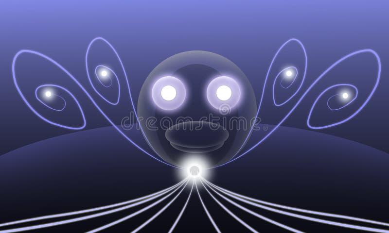 Download Il Fumetto Astratto Traslucido Dei Fari Illustrazione di Stock - Illustrazione di festa, globo: 55362765