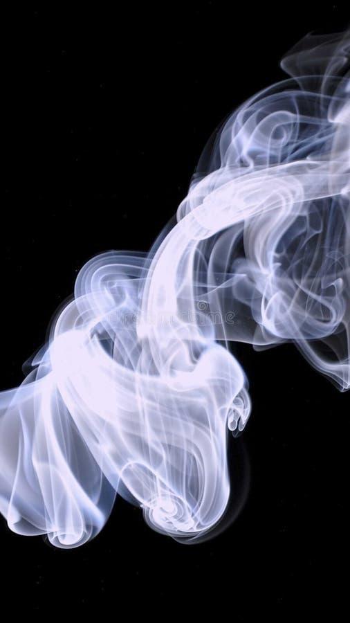 Il fumo ha riempito l'aria fotografia stock libera da diritti