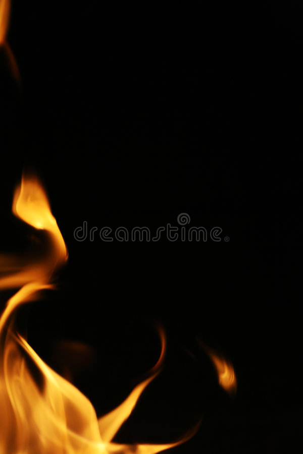 Il fuoco fiammeggia il bordo immagini stock libere da diritti