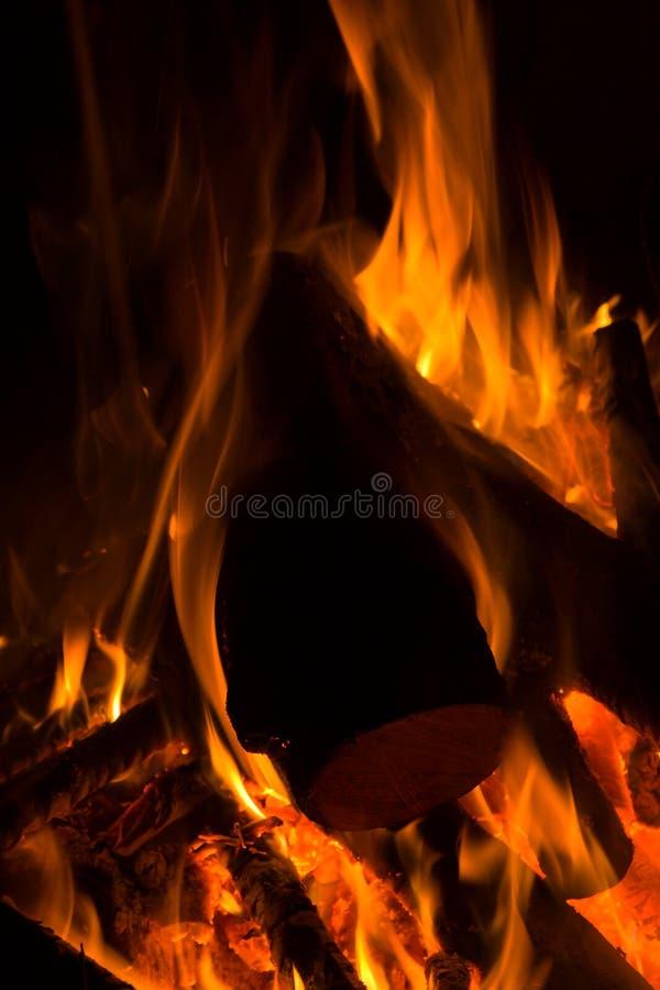 Il fuoco turistico. fotografia stock