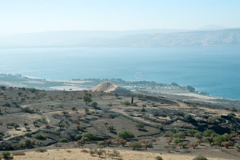 Il Galilee. L'Israele del nord. immagine stock