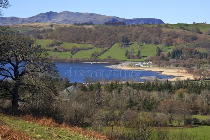 Il Galles - Lago Bala - Gwynedd Fotografia Stock Libera da Diritti