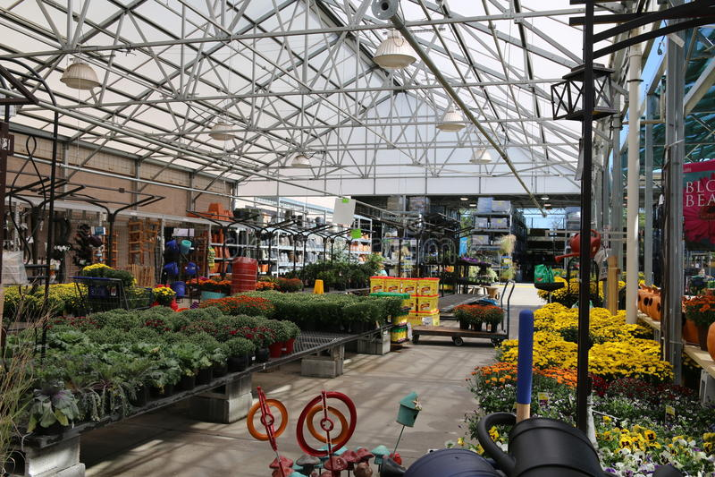 Il Garden Center fotografie stock