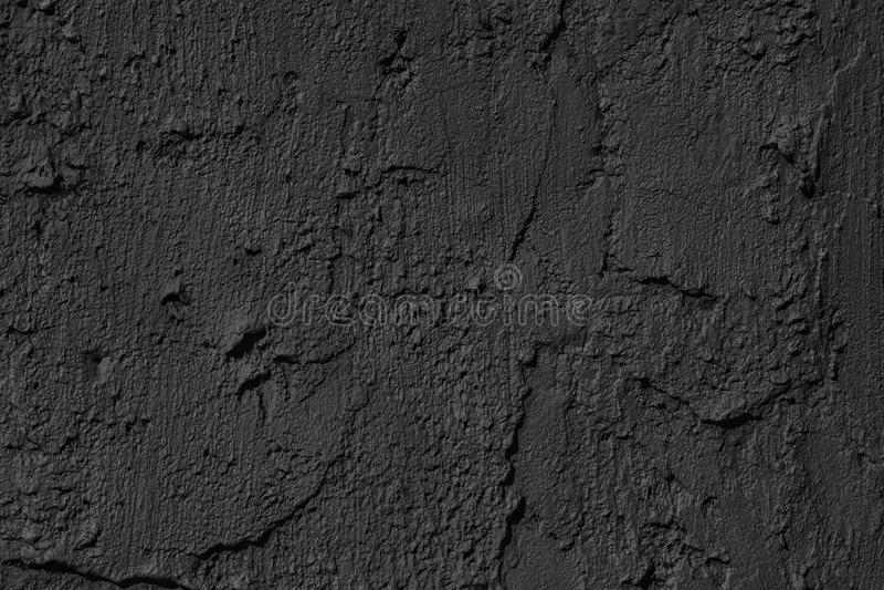 Il gesso nero del cemento spalma la struttura come fondo fotografie stock libere da diritti