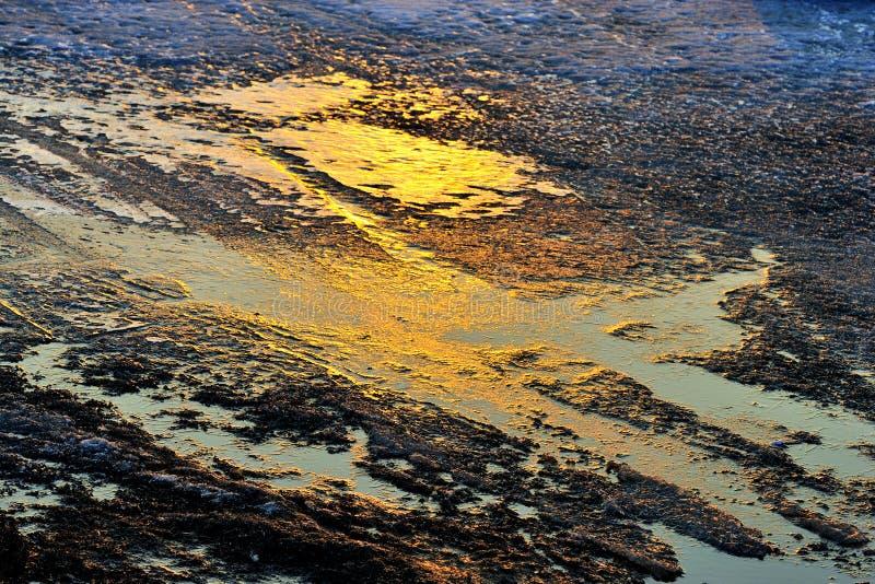 Il ghiaccio dell'inverno 2 immagini stock libere da diritti