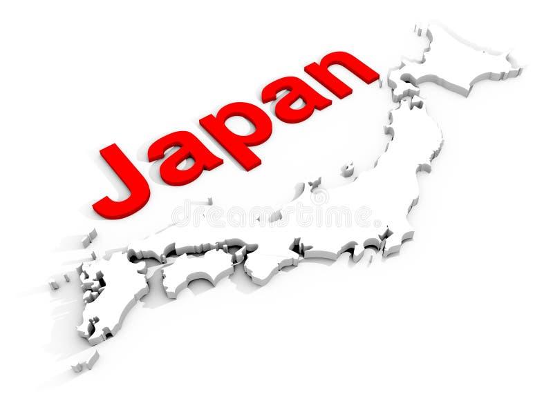 Il Giappone illustrazione vettoriale