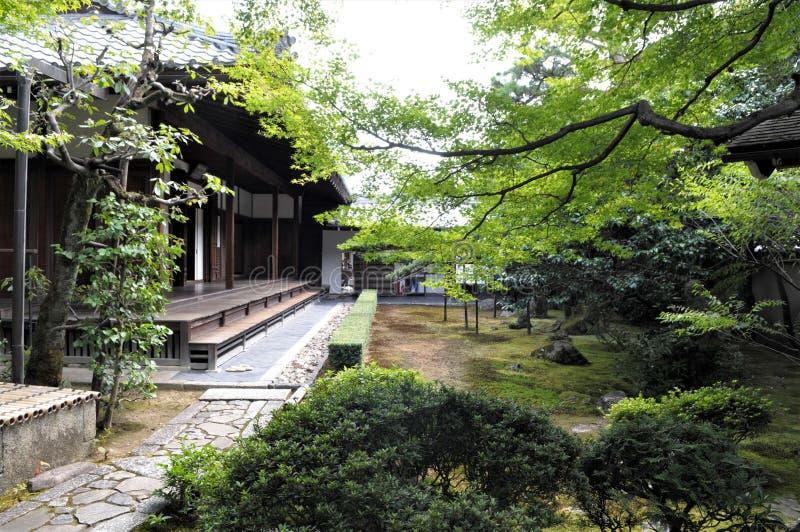 Il Giappone, Kyoto Obai in tempio fotografia stock