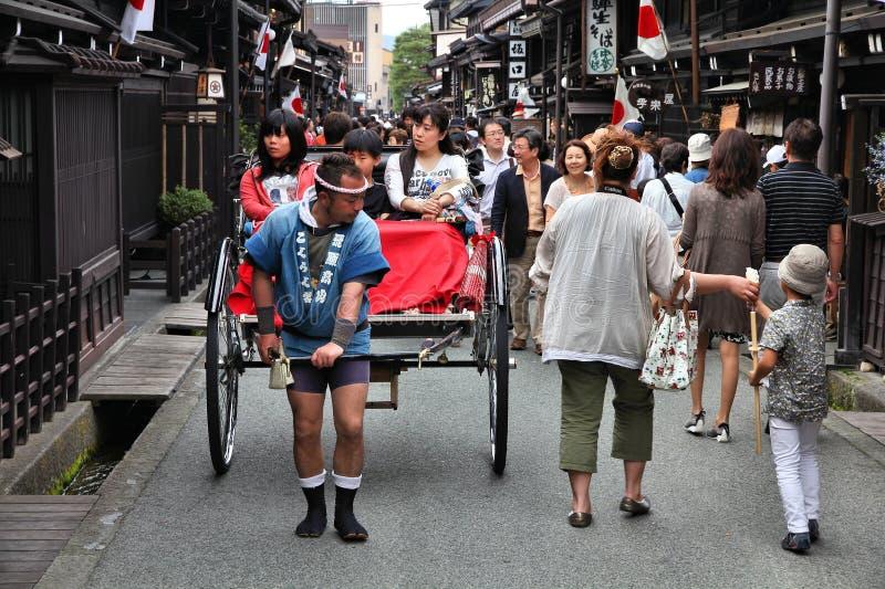 Il Giappone - Takayama fotografia stock