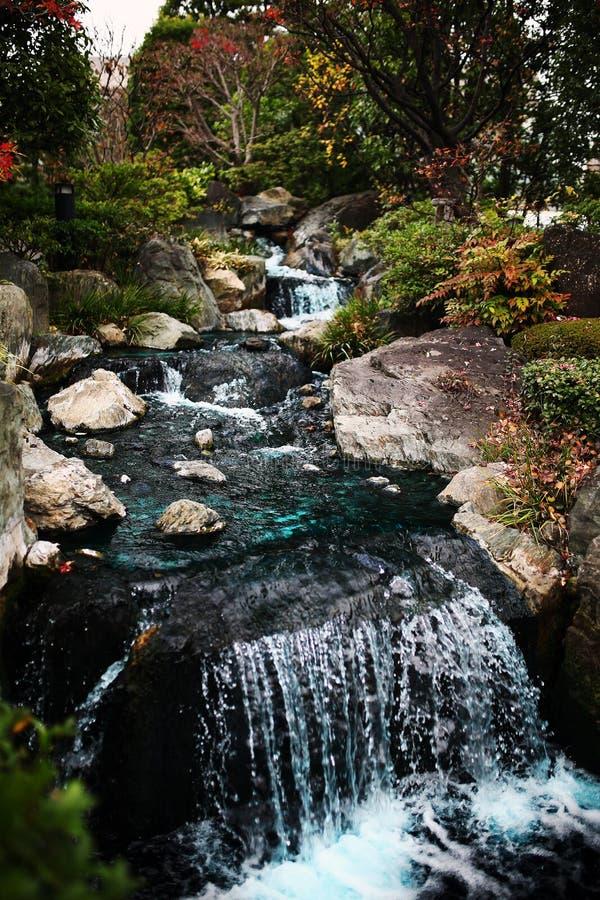 Il Giappone Zen Garden fotografie stock libere da diritti