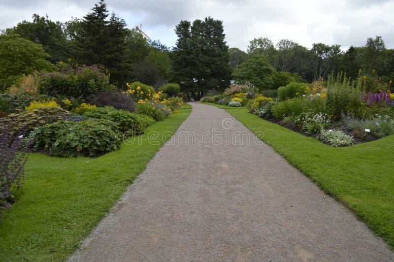 Il giardino - 2 immagini stock