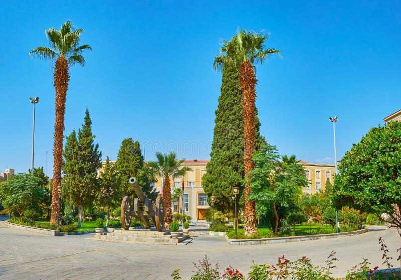 Il giardino del ministero degli affari esteri, Teheran, Iran fotografia stock libera da diritti