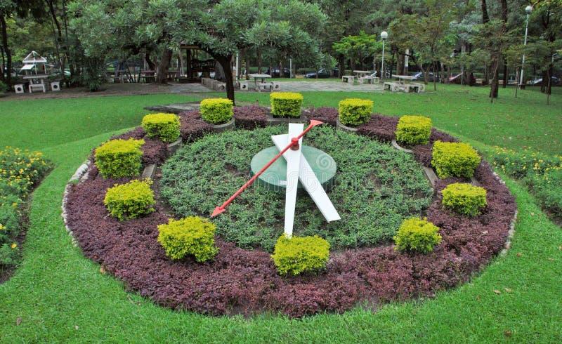 Il giardino dell'orologio immagini stock libere da diritti