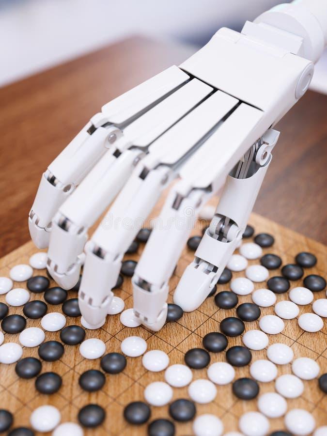 Il gioco di intelligenza artificiale va immagine stock