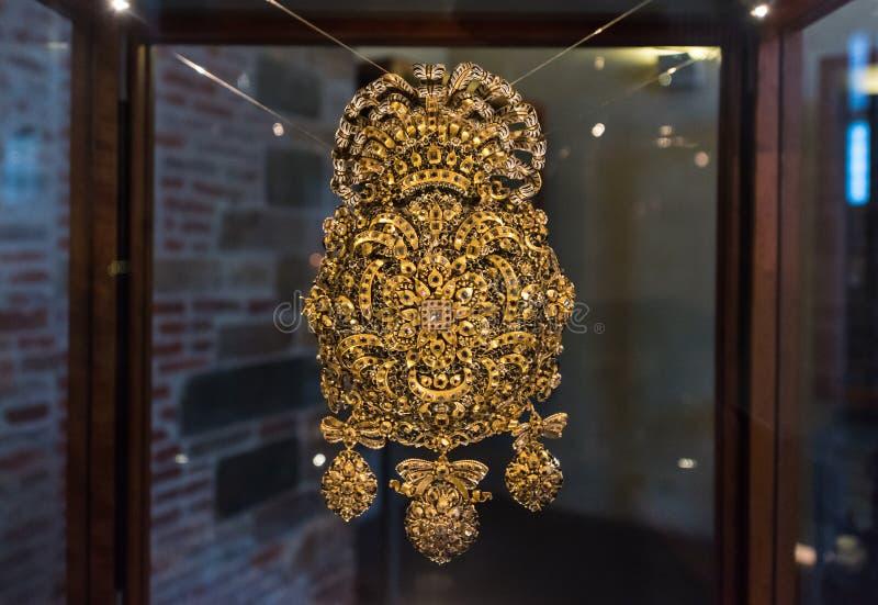 Il gioiello di Volto Santo immagine stock libera da diritti
