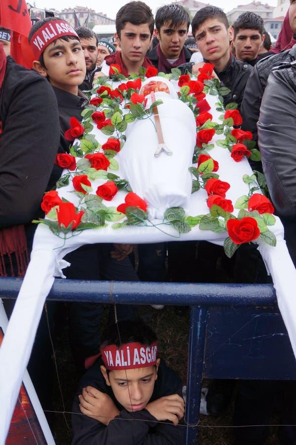 Il giorno di Ashura a Costantinopoli. fotografia stock libera da diritti