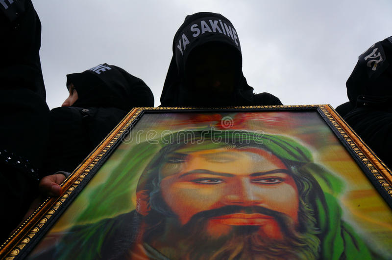 Il giorno di Ashura a Costantinopoli. immagine stock