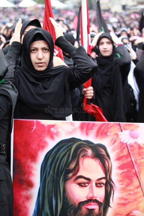 Il giorno di Ashura a Costantinopoli. immagine stock libera da diritti