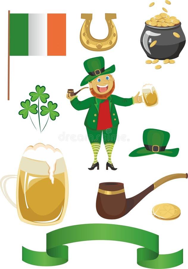 Il giorno di St Patrick illustrazione vettoriale