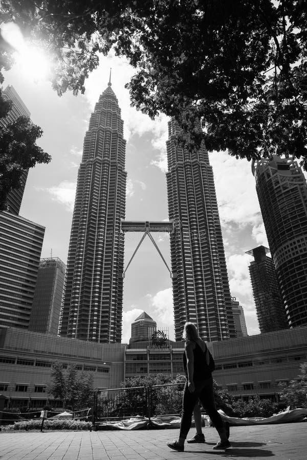 Il giorno in KLCC, Kuala Lumpur, Malesia immagini stock