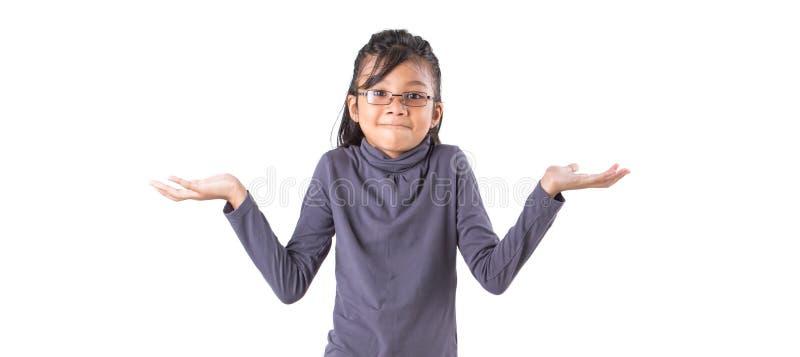 Il giovane studio asiatico della ragazza ha sparato II immagine stock libera da diritti