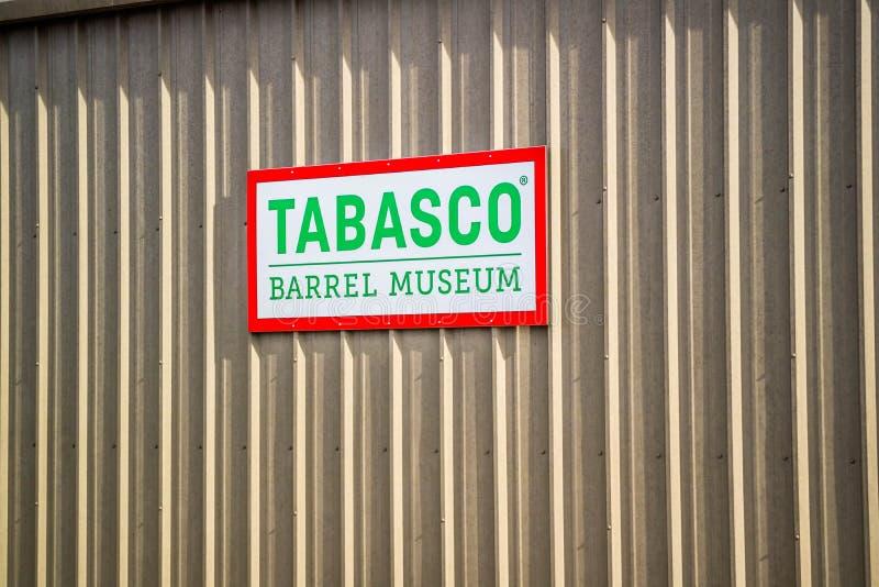 Il giro della fabbrica e dell'alimento di Tabasco in Avery Island, Luisiana immagini stock libere da diritti