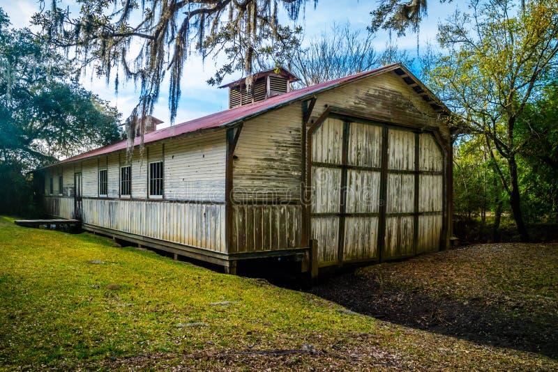 Il giro della fabbrica e dell'alimento di Tabasco in Avery Island, Luisiana fotografia stock libera da diritti