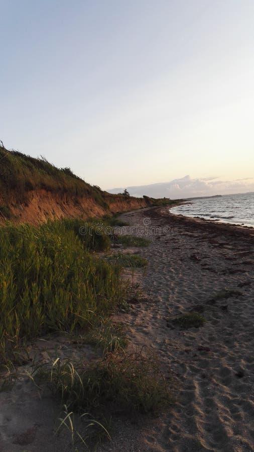 Il giro sulla spiaggia immagine stock