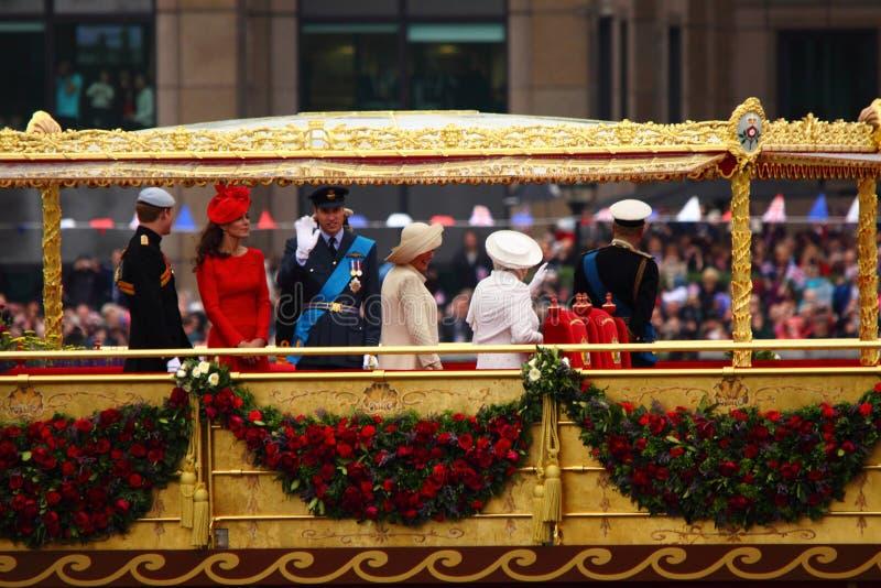 Il giubileo di diamante della regina