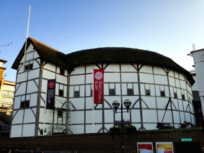 Il globo di Shakespeare, Bankside, Southwark, Londra fotografia stock libera da diritti